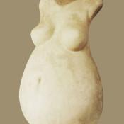 Maternità, gesso, 2017 (1)